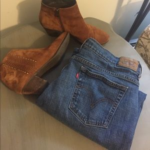 🥰 Levi's 505 straight leg classic five pocket